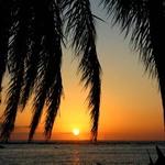 Sunset Framed