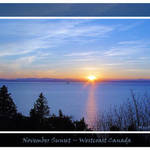 Sunset November - Westcoast Canada