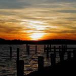 Point Pleasant sunset