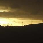 Ruahine  Mountain Range Windfarm