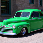 Super Deluxe 1946 Ford