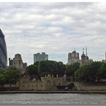 The Tower Of London And Surrounding Skyline