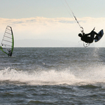 The Windsurfer and the Kiteboarder