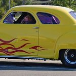 The Yellow Flame Car
