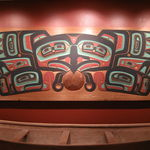 Tlingit Art and Canoe