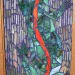 Tree Lizard Mosaic