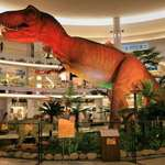 T Rex at the Mall