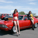 Trophy Girls And Hot Rod