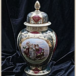 Viennese Decorative Jar