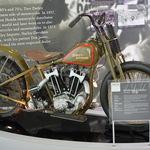 Vintage Harley hillclimber