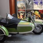 Vintage Harley & Sidecar