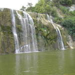 Waihi Falls in the summertime