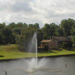 Cane River Lake Fountain