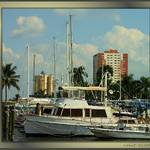 Ft Myers Yacht Basin and Skyline