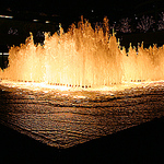 Glowing Fountain