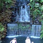 waterfall daylight