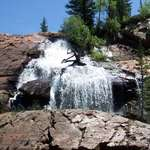 Slickrock Waterfall