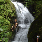 Raratongan Waterfall