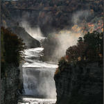 Waterfalls at Letchworth Park