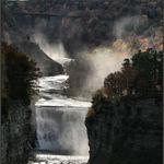 Waterfalls at Letchworth Park