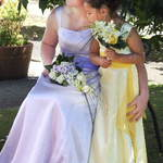 Bridesmaid and Flowergirl