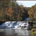 Wiscoy Creek Waterfalls